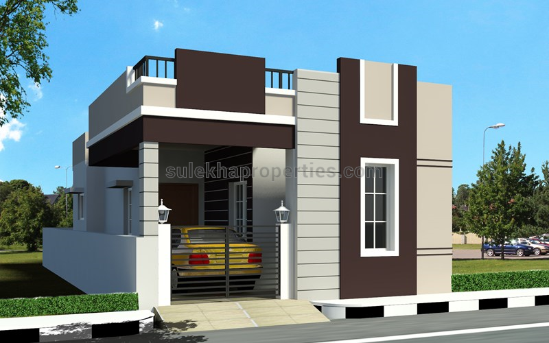Front Elevation Designs For Small Houses In Chennai : Bhk independent house for sale in poonamallee chennai