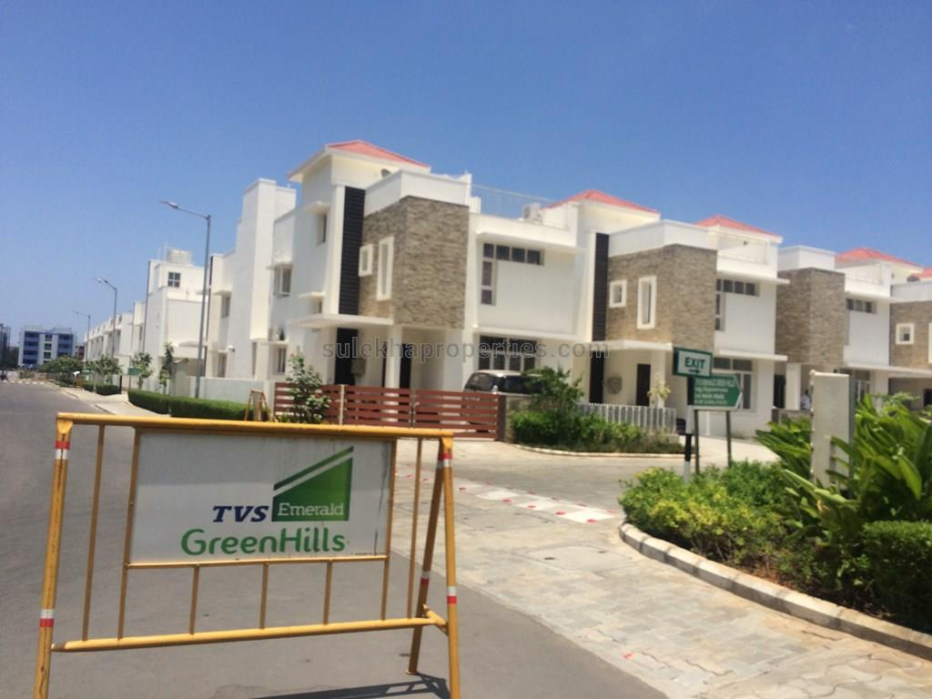 3 bhk independent house for resale in mridhula homes tambaram