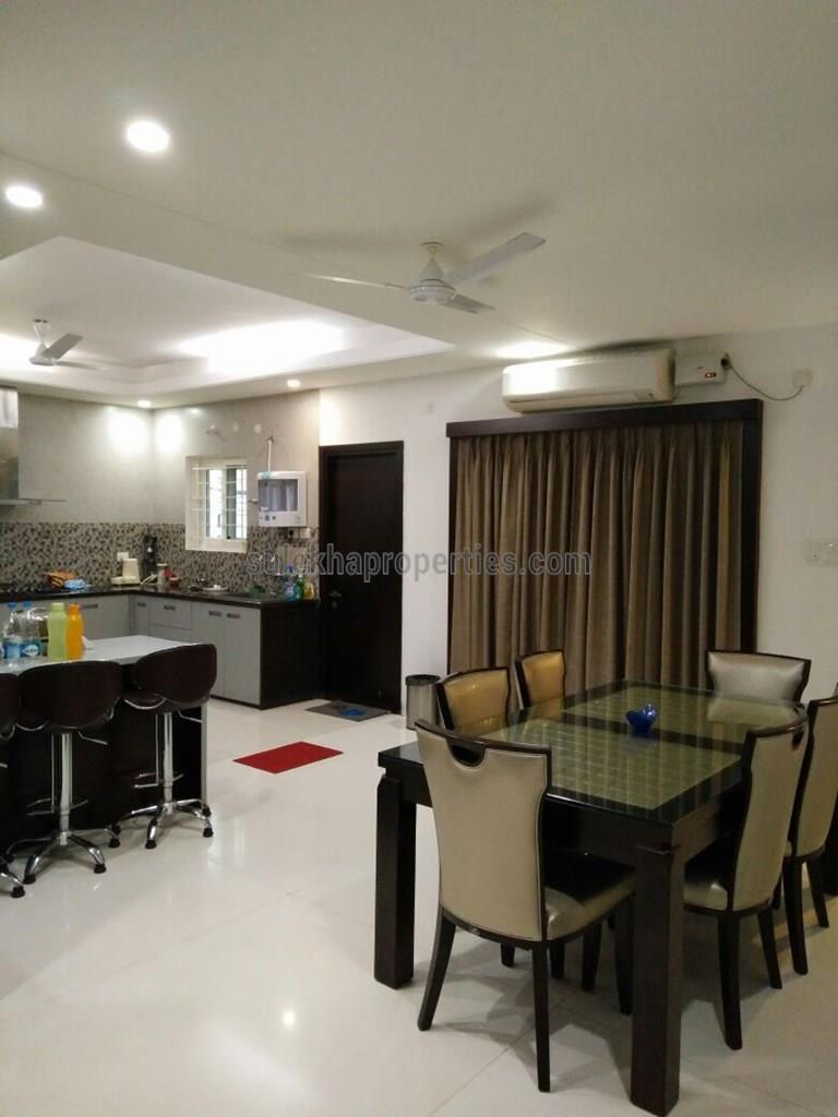 3 BHK Flat For Rent In Serilingampally Triple Bedroom
