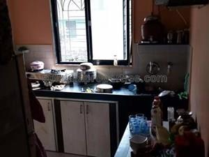 1 BHK Flat For Resale At Siddhi Vinayak Tower In Thane Seen One Room Kitchen
