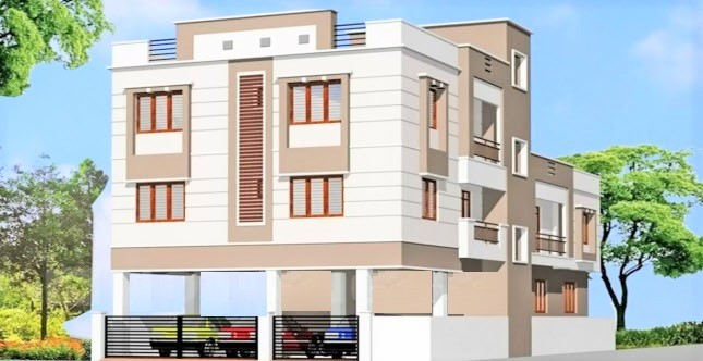 BHK Flat For Rent In Medavakkam Double Bedroom Flat For Rent In - Apartment house images
