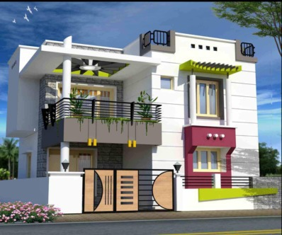 Base builder house in rajakilpakkam chennai by base for Individual house models in chennai
