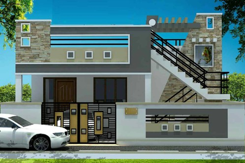 Real value homes in singanallur coimbatore by real value for Home architecture coimbatore