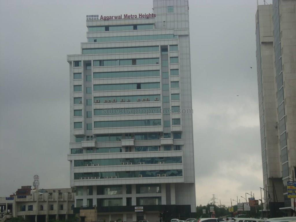 Commercial building design commercial building subhash - Exterior View