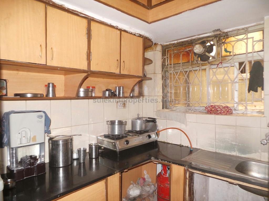 1 bhk flat interior design india - Kitchen