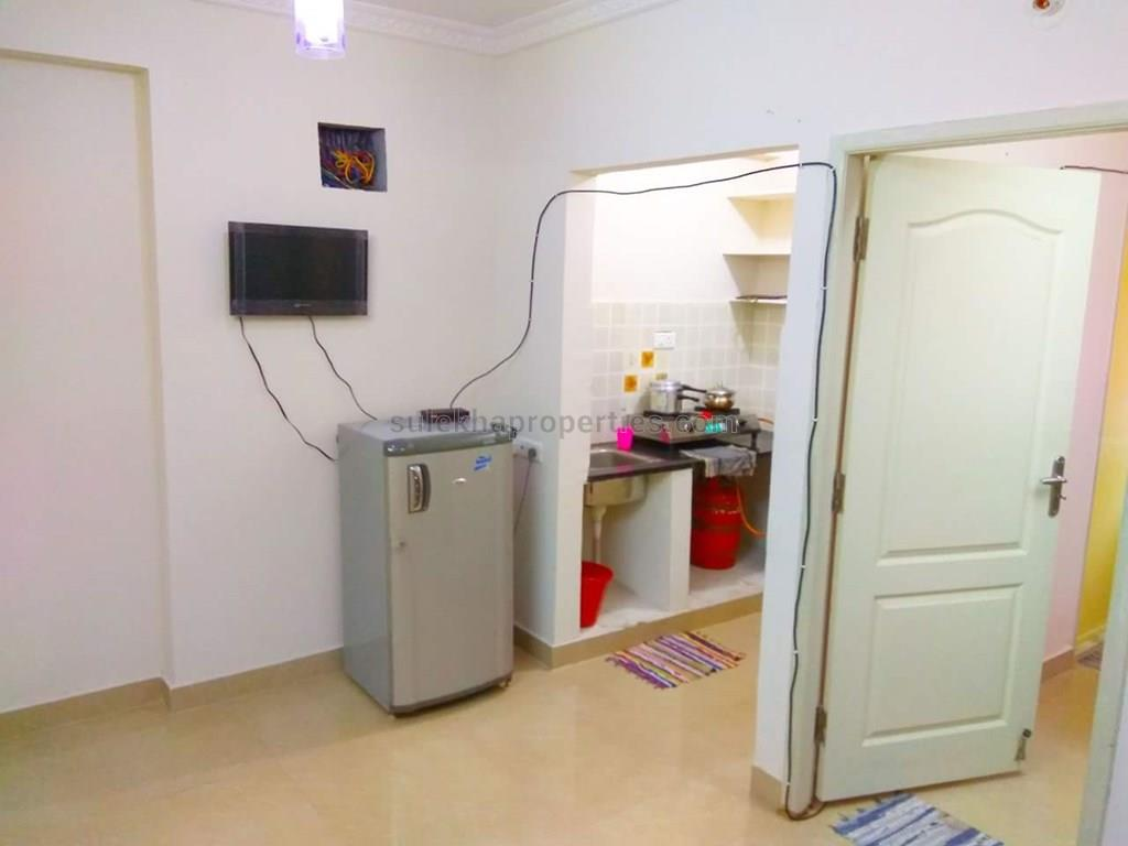 2 bhk independent house for rent in btm layout, bangalore - 1000