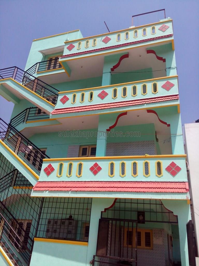 1 bhk independent house for rent in sundar nagar, gokula mathikere