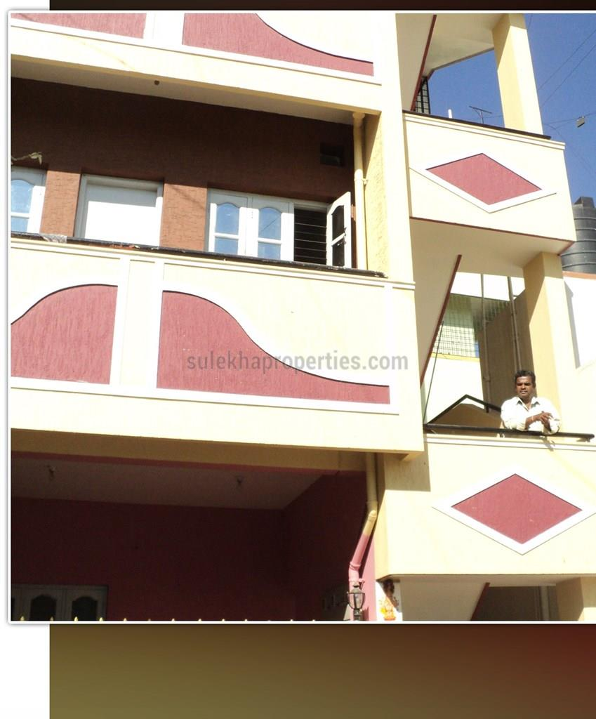 1 BHK Individual House For Rent In RMV Extension